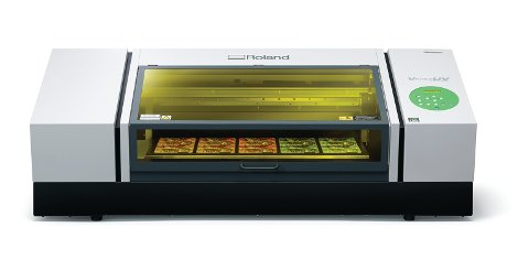 Roland DG's new VersaUV LEF-300 flatbed printer