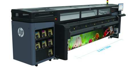 Spandex HP 1500 Latex Printer