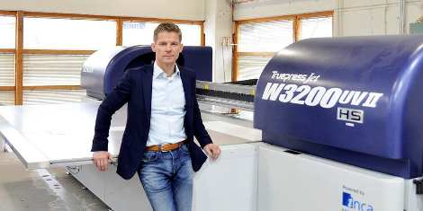 Lönnberg goes for further high-end POS growth with Truepress Jet investment