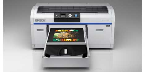 The big e epson enters the direct to garment t shirt for Epson t shirt printer