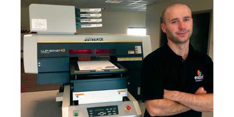 Excel Promotions invests in Mimaki UJF-3042HG LED UV flatbed printer