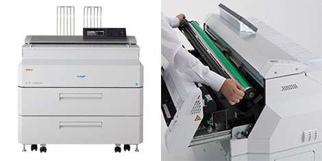 OKI upgrades wide-format with new Teriostar multifunction printers