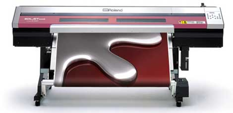 Roland XC-540MT metallic injet printer