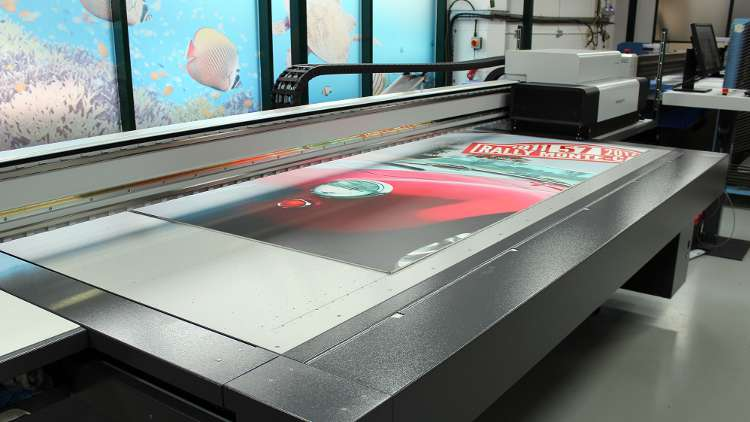 Visitors to Spandex's Open House on 6th and 7th December 2017, at its premises in Bristol, will be able to see the swissQprint Impala LED printer in action.