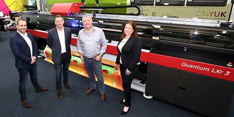 New EFI Quantum LXr 3 printer helps DIS Group win in the graphics arena
