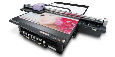 Mimaki JFX200 2531 LED UV flatbed printer