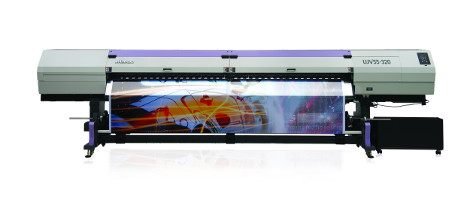 UK debut for Mimaki UJV55-320 roll-to-roll LED UV printer at