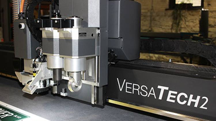 Arrow Digital has recently installed a 3.2 meter x 3.2 meter MCT Versatech2, the latest in digital cutting/finishing.