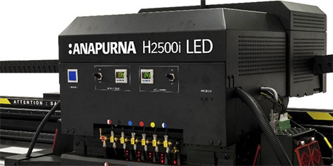 Agfa To Showcase New Led Equipped Anapurna Printers At Drupa