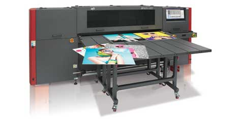 EFI hyprid flatbed H1625 LED printer
