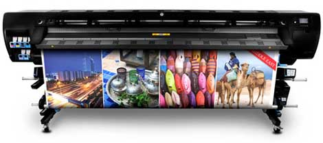 HP Designjet L28500 latex printer