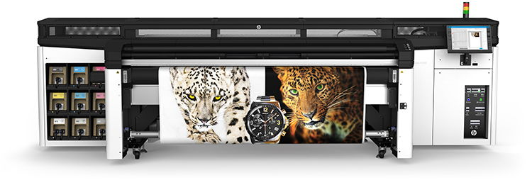 hp latex r series r2000 rigid printer front