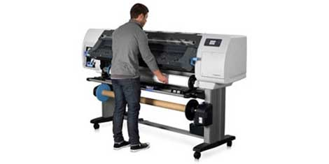 Hp Designjet L25500 With Operator