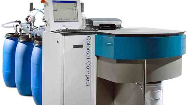 Colorsat Compact High ink dispensing system from GSE Dispensing.