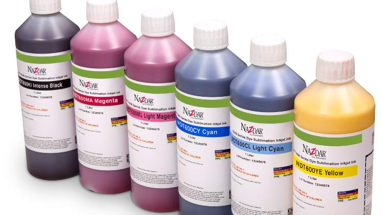 Nazdar NDT600 Series inks are suitable for a wide range of applications.