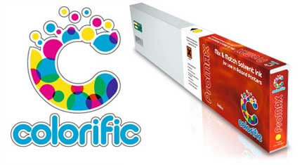 colorific promax 440 cartridge Colorific to demonstrate high quality alternative inks at FESPA Digital 2012