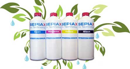 SEPIAX Ink compatible with United Nations GHS Standard for Environmental Responsibility
