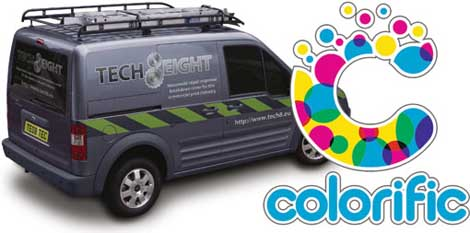 Tech8 Van Colorific