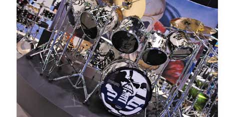 Iron Maiden Drums
