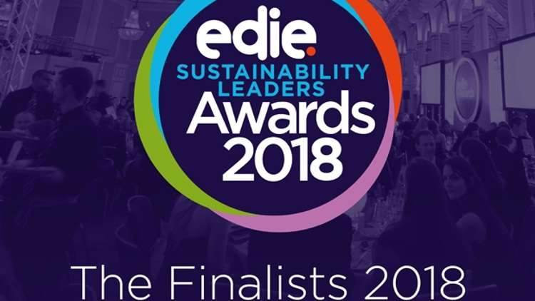 Avery Dennison named as a finalist in the 2018 edie Sustainability Leaders Awards.