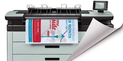 Going wide: New SpotOn SynPaper for HP PageWide XL announced by Drytac