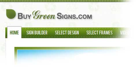 Buy Green Signs
