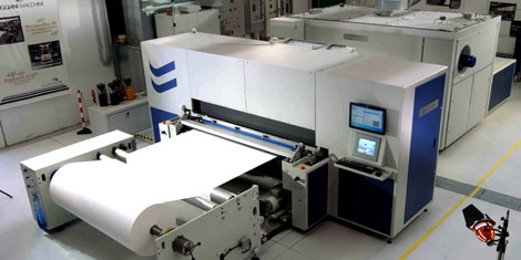 The Reggiani Digital Textile Printer