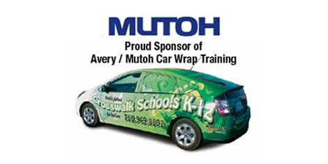 Mutoh Avery Car Wrap
