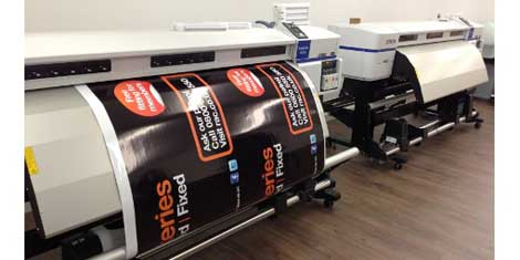 Ottimo Digital relies on Epson wide format printers for RAC livery