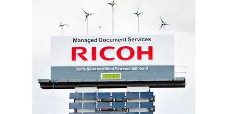 Ricoh Eco Billboard