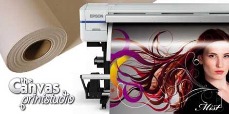 the canvas print studio installs epson surecolor sc70600 to expand