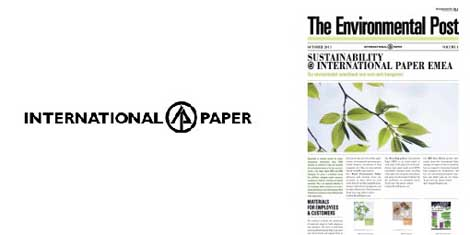 International Paper releases 4th issue of 'Green' Newspaper