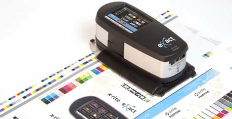 X-Rite eXact spectrophotometer platform extended with new scan capability