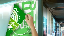 Blog: Making an impact. How to create double-sided window graphics.