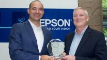 Epson celebrates Keypoint Intelligence PaceSetter award for sustainability.