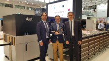 Durst P5 350 hybrid production platform wins EDP award.