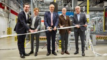 Siegwerk opens Europe's largest fully automated production facility for printing inks.