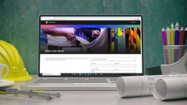 The HP Virtual Booth provides an opportunity to explore large format printing applications remotely, including via remote demonstrations and live webinars.