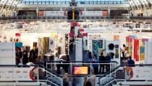 Epson announces its two 'Outstanding Use of Print in Textiles' Award winners at New Designers Exhibition.