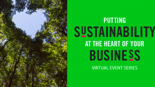 Wilbert Van Der Lans from eco-focused communications agency Make Sense - and participant in the first Coffee Talk event - discusses the motivations to putting sustainability at the very heart of your business operations.