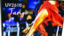 Fisher Textiles presents Tango Backlit fabric for UV and latex printing.