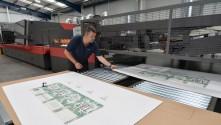 Durham Box provides customers a competitive edge with EFI Nozomi White UV LED inks.