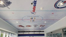 Branded Wraps makes an entrance at 'mecca for the sports enthusiast' with Drytac media.