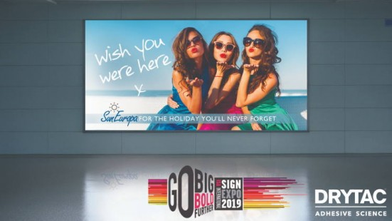 Drytac to shine new light on retail graphics at ISA International Sign Expo.