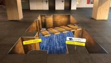 Sentec International introduces textile based floor graphic media.