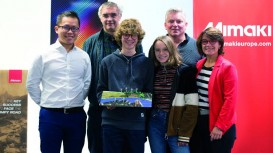 Mimaki teams up with Microsoft's Minecraft in gamer challenge to invent sustainable cities.