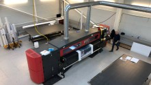 UK company Rockets to New Heights with an EFI VUTEk LX3  printer from CMYUK.