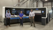 Duggal's new Landa S10 Nanographic Printing Press is equipped to meet its unique high definition requirements.