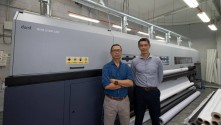 J&A Imaging Station Sdn Bhd is first customer in Asia to invest in Durst Rho 512R LED production printer.