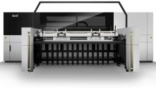 In roll-to-roll wide format printing, Durst presents the successful Rho 512R production machine with new LED UV curing technology.